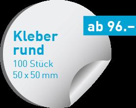 runde Kleber drucken | kleberdrucken.ch